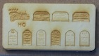 Picture of HO Scale Tombstones Kit