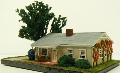 N Scale Ranch House No 1